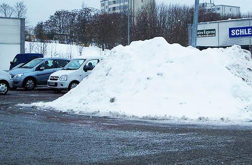Winterdienst und Räumarbeiten für Fredersdorf, Vogelsdorf in Berlin & Brandenburg
